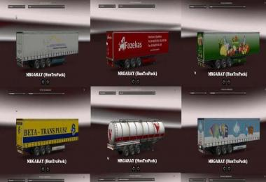 Hungarian Trailers Pack v1.04