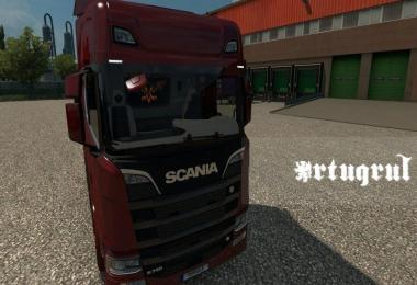 Interior for Scania 2016 S and R v2.0