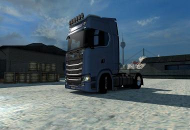 Lowdeck for Scania S by SCS