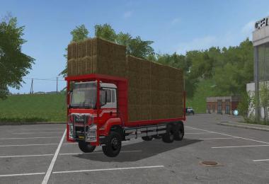 MAN TGS Bale Transport v1.0.0.0