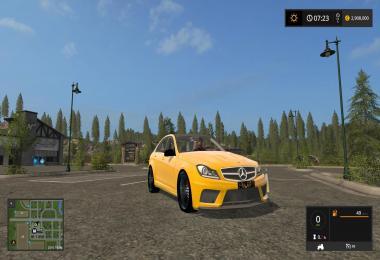 Mercedes Benz C63 AMG v1.0