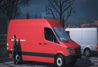 Mercedes Benz Sprinter 2009 Short v1.0