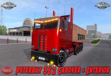 Peterbilt 352 Cabover + Interior 1.29-1.30