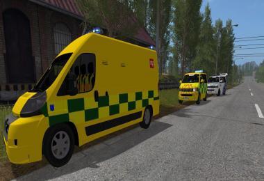 Peugeot Boxer Ambulance LEDs v1.0