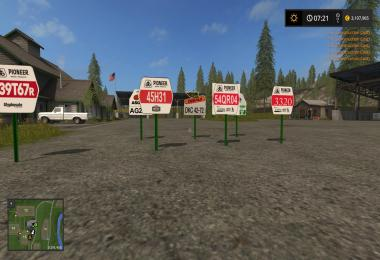 Placeable Crop Signs v1.0