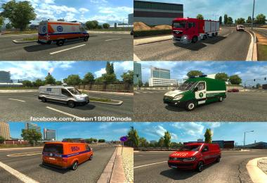 Polish Special Vehicles v1.0