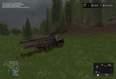 Ponsse Buffalo with autoload and loading aid v1.1