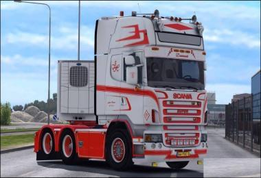 Scania R620 Jesper Hansen v1.0