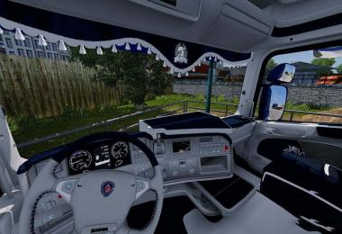 Scania RJL CMI Blue | White Interior 1.30