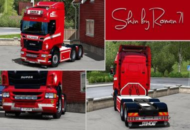 Scania RJL Oivind Lermo Skin v1.0