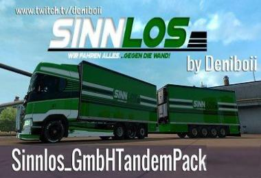 Sinnlos GmbH Tandem Pack 2018 by Deniboii