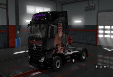 Skin for Mercedes MPIV Zbrothers v1.0