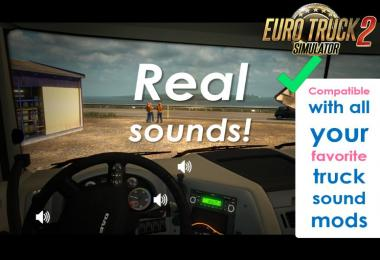 Sound Fixes Pack 2018 v18.1 for ATS