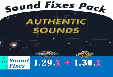 Sound Fixes Pack v18.1