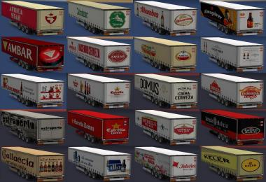 Spanish beer trailers All versions