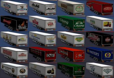Trailers of world beer brands All versions