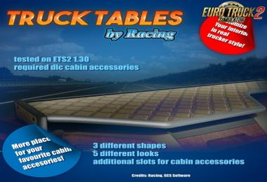 Truck Tables by Racing [1.30.x]