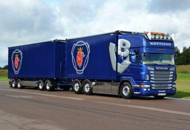 Scania V8 Sound for Scania R v1.0