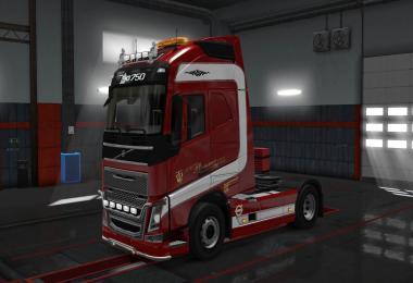 Volvo FH 2012 Plummer skin 1.30