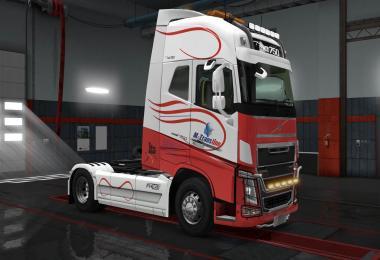 Volvo FH16 2012 Transline skin 2.0