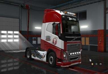 Volvo FH16 2012 War Thunder skin 1.30