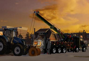 Western Star 4900 rotator heavy wrecker v1.0