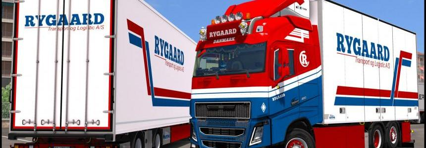 Volvo FH16 2012 Rygaard Transport Skin
