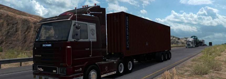 Scania 143M for ATS v1.0
