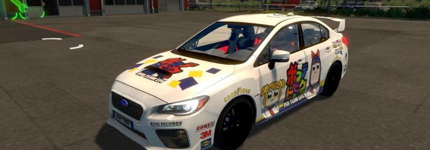 Pop Team Epic Paint Job for Subaru Impreza 2017 v1.0