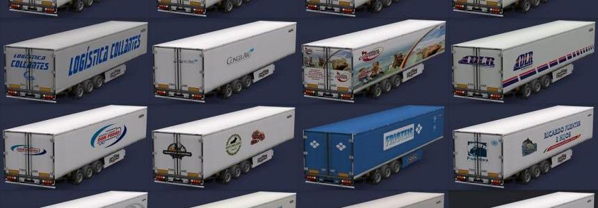 Chereau trailers, food companies All Versions