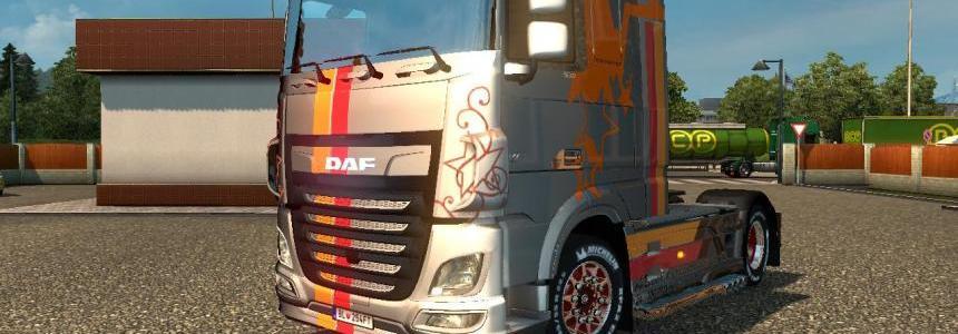 DAF Euro6 K&N Star Metallic v1.0