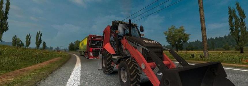 Excavator Mutt 422 in AI Traffic [1.30]
