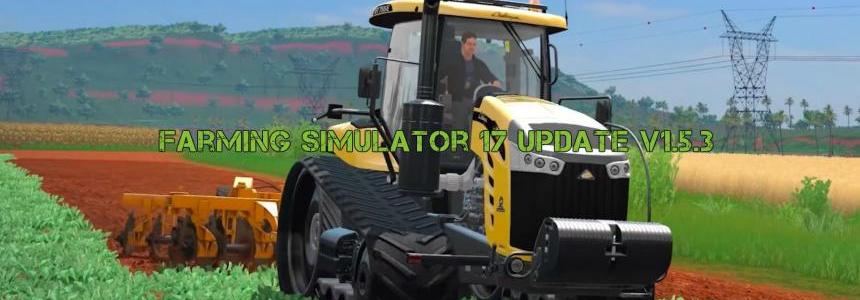 Farming Simulator 17 Update v1.5.3