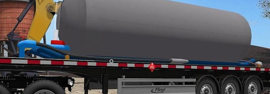 Fuel Trailer Flatbed v1.0