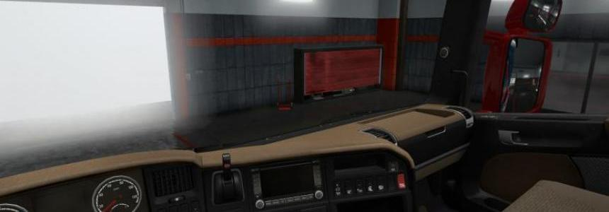 HD interior for Scania S + mirrors 1.30