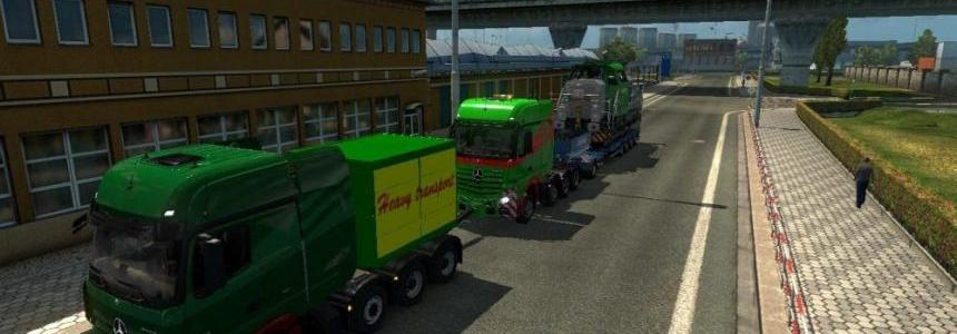 Heavy Haulage Convoy Mod for SCS 8x4s v1.0