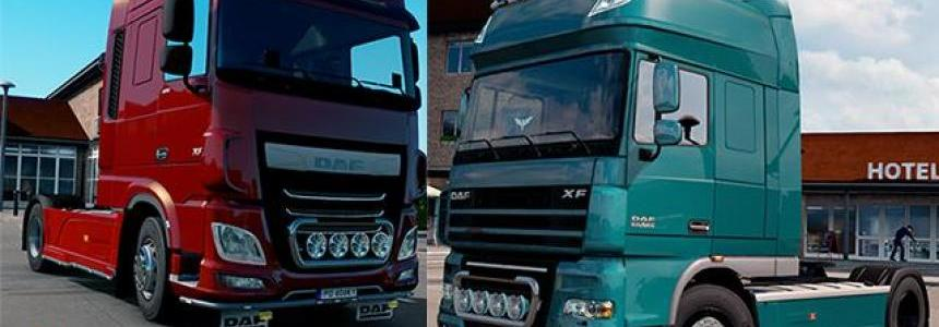 Kelsa Lightbars for DAF XF 105 & 106 v1.4 1.30.x