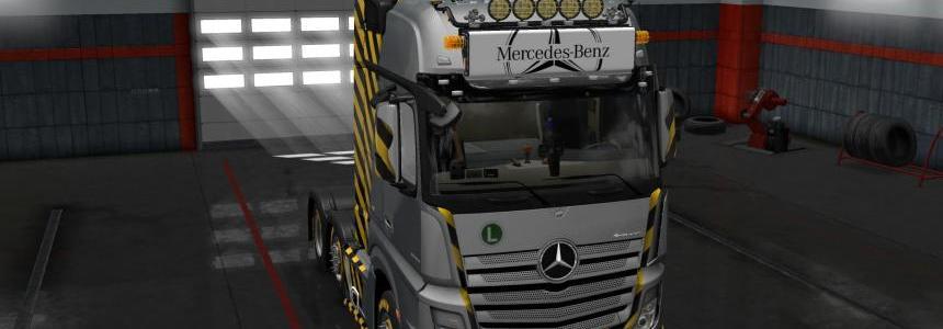 LightBox for Mercedes-Benz Actros 2014 v1.0 1.30.x