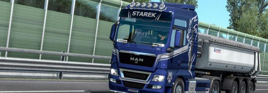 MAN TGX Euro5 – Starek Transport Skin