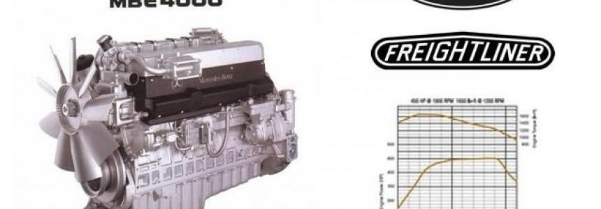 MBE 4000 450 HP for Peterbilt 579 & freightliner FLB 1.30.x