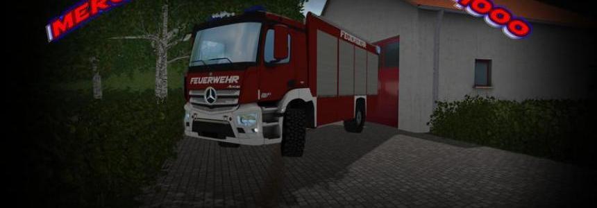 Mercedes Antos TLF4000 Lentner v1.0
