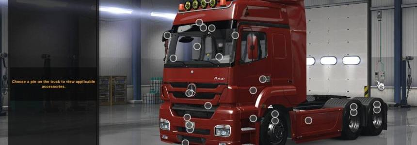 Mercedes Axor 1.30s for ATS v1.0