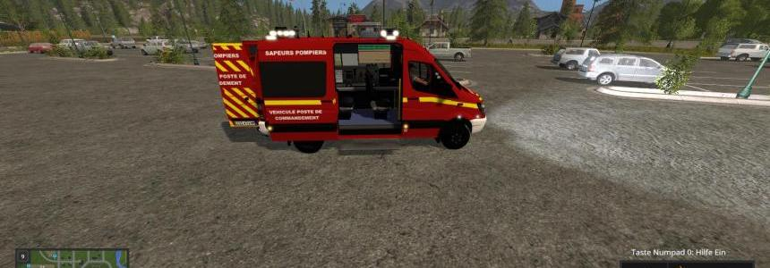 Mercedes poste commandement v3.0