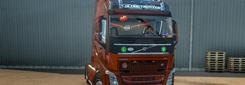 New Volvo FH16 Accessories + Interior V4 Fix