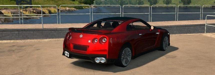 Nissan GTR 2017 v3.0 (New engine) Fatser