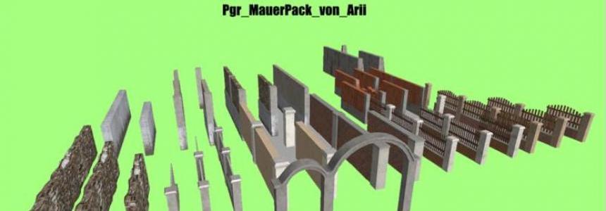 Pgr Mauer Pack v0.1