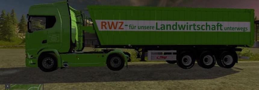 Raiffeisen Skin for Fliegl Green Line trough v1.0