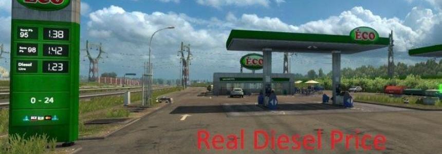 Real Diesel Prices Week 7 v1.0