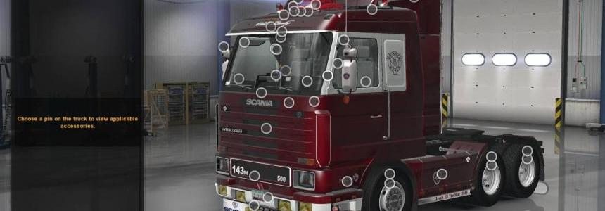 Scania 143M for ATS 1.28.x-1.30.x v1.1 UPDATED