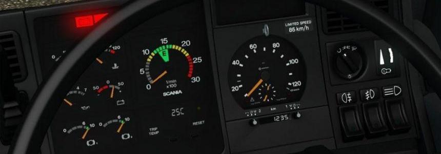 Scania 4 Series Gauges *Update* v1.0